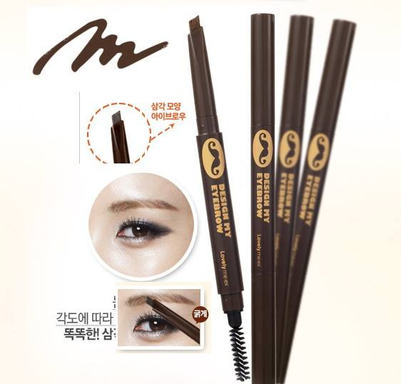 Chì kẻ mày The Face Shop Lovely Meex Design My Eyebrow